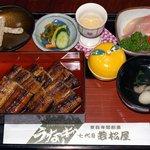 若松屋 - 蒲焼御前・松(2800円)