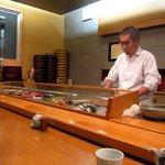 小判寿司 - カウンター席