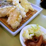天ぷら倶楽部 - 塩辛がうれしい