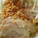 用心棒 本号 - ワンコイン&ガチャポン祭り[ラーメン]の豚と辛揚