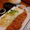 とんかつビストロ 肉のマルコウ - 料理写真:ロースかつ定食(220g)