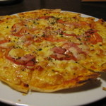ビストロ 時代亭 - オススメ!ベーコンの薄焼きピザ