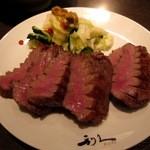 牛たん炭焼き 利久 - 牛タン「極」定食