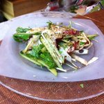 9585799 - たこと水菜のサラダ