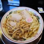 肉煮干し中華そば さいころ - 中華そば650円