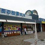 あなぶき家 津田の松原SA 上り線うどんコーナー - 津田の松原SAの概観です。 高松から淡路島に行く方面のSAです。