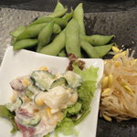 大黒堂 - 前菜三種盛り