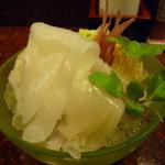寿司 魚瀬 - ☆烏賊ソーメンです(#^.^#)☆
