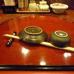 寿司 魚瀬 - ☆テーブルセットはこんな感じです!(^^)!☆