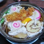満留賀 - 鍋焼きうどん アップ