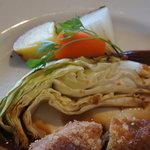 洋食 コノヨシ - 野菜もウマし
