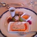 フランス料亭「七彩」 - 前菜