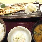 咲くら - 焼き魚定食(秋刀魚)