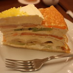 ハーブス - ミルクレープ700円