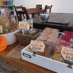 カフェ オチコチ - 手作り焼き菓子のテイクアウトできます!きび砂糖を使った優しい甘さのほっとするお菓子たちです。