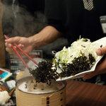 かまくらの郷 - 石焼鍋 1000円