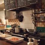 ラ・ゴロセッタ - もくもくと美味しいピッツアを焼くシェフ