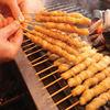 はじめ屋 - 料理写真:名物 鶏皮焼き