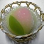 和菓子工房 あん庵  - 料理写真:桃まんじゅう