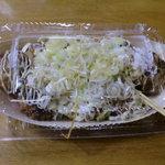頑固蛸 - ネギ醤油です(550円)