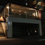 チャイニーズ ダイニング ラリアン - 当店は入口が2箇所 写真はテラス側入口