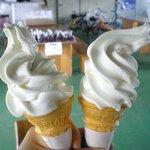 久保田牧場チーズ研究所 ミルクパーラー - ソフトクリーム