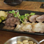 燻製キッチン - 2011/09 燻製盛り合わせ