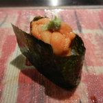 第三春美鮨 - アサクサノリの海苔と浜中の養殖ウニ