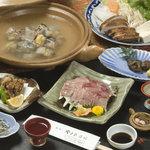 Yamasa Ryokan - 料理写真:大分県出身の政治家で稀有の食通として知られる木下謙次郎(1869~1947)が、当時ベストセラーとなった著書「美味求真」にて食通が最後にたどり着く美味としてすっぽんを紹介しています。