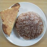 リトルマーメイド - 料理写真:チーズトースト・とびきりメロンパン