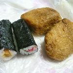 御菓子司 三吉野 - 巻き寿司とお稲荷