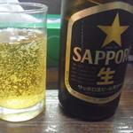 ばんちゃんラーメン - 瓶ビール