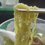 ばんちゃんラーメン - 麺アップ
