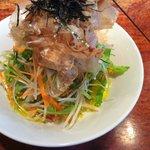 酒と肴と麺の店 田村屋 - ミルク冷やし野菜