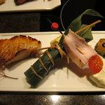 舞桜 - ちまきと松茸