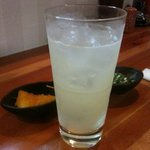 茶々丸 - ドリンク写真:レモンサワー