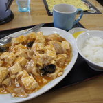 味のももんじ - 料理写真:麻婆豆腐定食