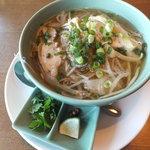 ニャー・ヴェトナム - 蒸し鶏と野菜のあっさりフォー