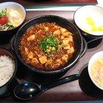 彩賓楼 - 麻棒豆腐セット