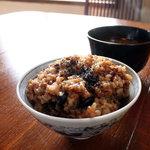 カフェ ハレノヒ - 酵素玄米をいただきました