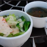 BON APPETIT - スープとサラダ