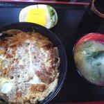 きくち食堂 - カツ丼