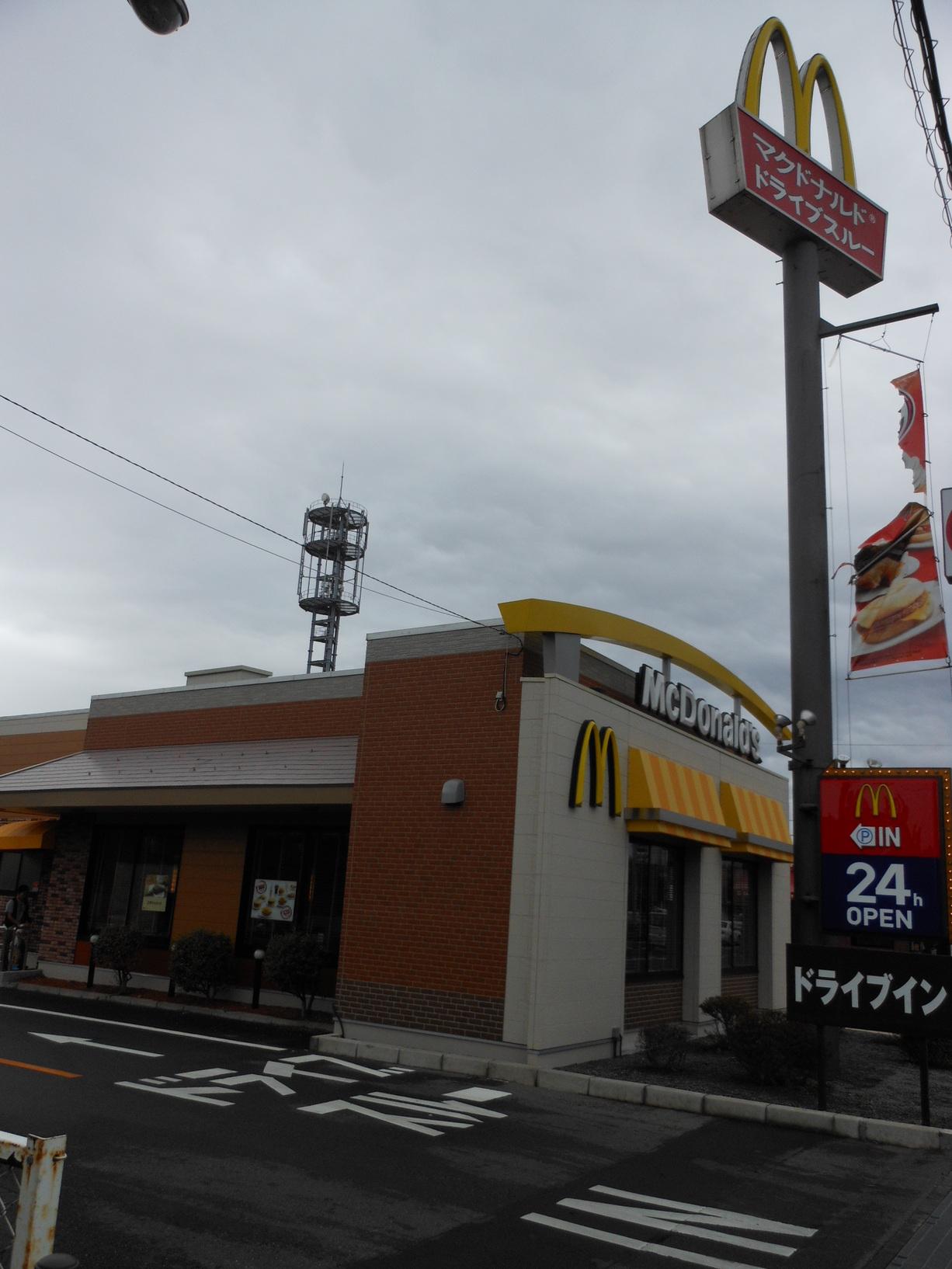 マクドナルド 1号線沼津店