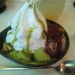 パフェ&カフェ雪菓子館 - 抹茶