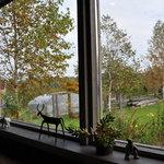 リーズカフェ - 窓際です