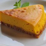 リーズカフェ - かぼちゃのケーキ