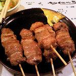 やきどり一文 - 精肉(5本550円)