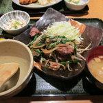 わすれん棒 - 白レバーニラ炒め定食