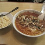 9952030 - サンマー麺+半炒飯