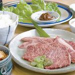 味道園 - 料理写真:飛騨牛カルビランチ 1,344円【税込】